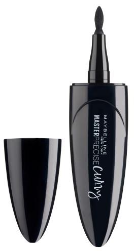 Očné linky - Maybelline Master Precise Curvy Eyeliner — Obrázky N1