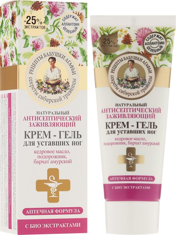 Krém-gél pre nôhy antiseptické - Recepty babičky Agafy
