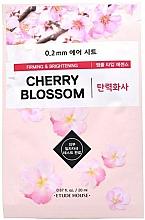Voňavky, Parfémy, kozmetika Látková pleťová maska Višňový kvet - Etude House Therapy Air Mask Cherry Blossom