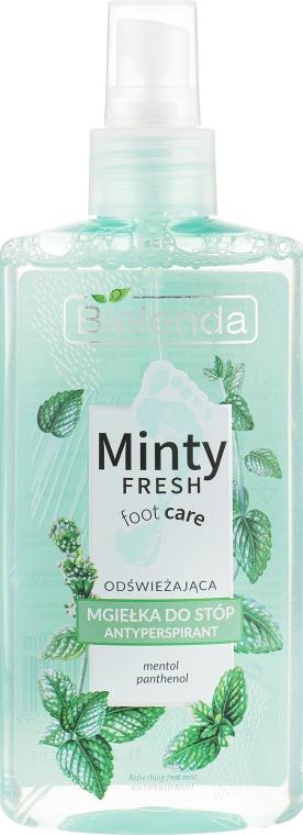 Antiperspirantový sprej na nohy - Bielenda Minty Fresh Foot Care Antiperspirant