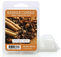 Voňavky, Parfémy, kozmetika Aromatický vosk - Kringle Candle Wax Melt Kitchen Spice