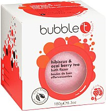 """Voňavky, Parfémy, kozmetika Kúpeľová bomba """"Ibištek a bobule acai"""" - Bubble T Bath Fizzer Hibiscus & Acai Berry"""