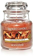 """Voňavky, Parfémy, kozmetika Vonná sviečka """"Tyčinky škorice"""" - Yankee Candle Cinnamon Stick"""