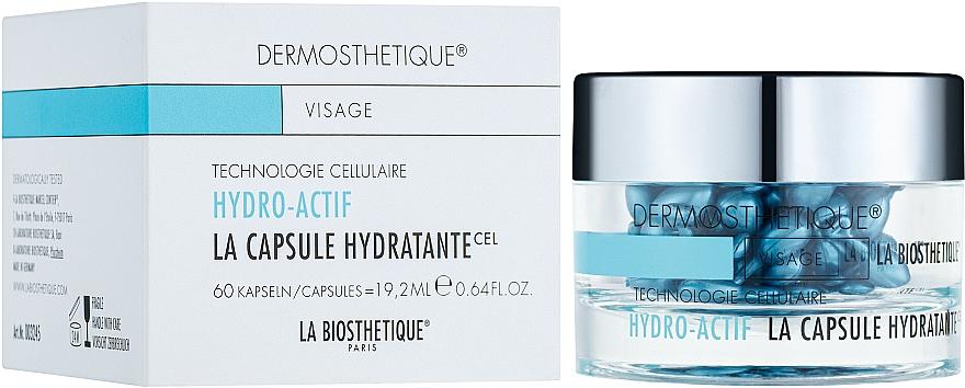 Hydrolipidové gélové kapsuly pre dehydratovanú pokožku - La Biosthetique Dermosthetique Hydro-Actif La Capsule Hydratante
