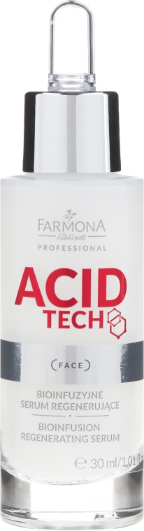 Bio-infúzne regenerujúce sérum - Farmona Professional Acid Tech Bio Infusion Regenerating Serum — Obrázky N2