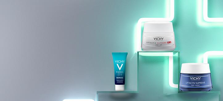 Získaj MINÉRAL 89 PROBIOTIC FRACTIONS 10 ml pri nákupe akciovej dermokozmetiky na pleť Vichy