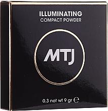 Voňavky, Parfémy, kozmetika Rozjasňujúci púder na tvár - MTJ Cosmetics Illuminating Compact Powder