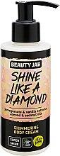 """Voňavky, Parfémy, kozmetika Krém na telo s trblietkami """"Shine Like A Diamond"""" - Beauty Jar Shimmering Body Cream"""