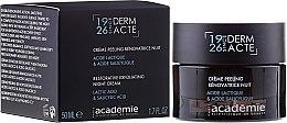 Voňavky, Parfémy, kozmetika Nočný obnovujúci krém-exfoliant - Academie Peeling Renovatrice Nuit Acide Lactique & Acide Salicylique