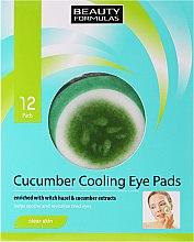 Voňavky, Parfémy, kozmetika Náplasti pod oči - Beauty Formulas Cucumber Cooling Eye Pads