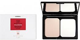Voňavky, Parfémy, kozmetika Rozjasňujúci púder na tvár - Korres Wild Rose Brightening Second Skin Powder