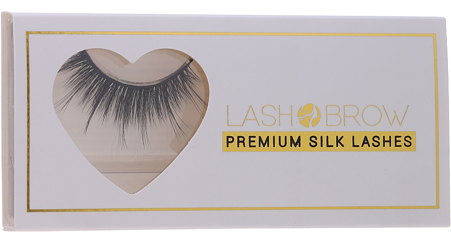 Umelé mihalnice  - Lash Brow Premium Silk Lashes All Night Long — Obrázky N1