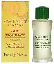 Voňavky, Parfémy, kozmetika Frais Monde Spa Fruit Apricot And White Musk Perfumed Oil - Parfumovaný olej