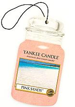 "Voňavky, Parfémy, kozmetika Arómatizator ""Ružové piesky"" - Yankee Candle Pink Sands Car Jar Ultimate"