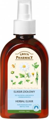 Bylinný elixír na vlasy - Green Pharmacy