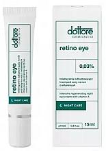 Voňavky, Parfémy, kozmetika Intenzívne regeneračný nočný krém pod oči s 0,3% vitamínom A - Dottore Retino Eye