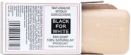 Voňavky, Parfémy, kozmetika Prírodné dechtové mydlo - Biomika Black For White