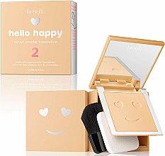 Voňavky, Parfémy, kozmetika Púdrový tónovací prostriedok - Benefit Hello Happy Velvet Powder Foundation