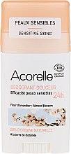 Voňavky, Parfémy, kozmetika Dezodorant-stick - Acorelle Deodorant Stick Gel Almond Blossom