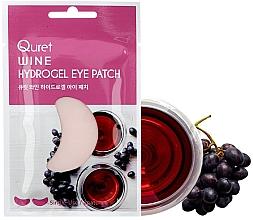 Voňavky, Parfémy, kozmetika Náplasti pod oči - Quret Wine Hydrogel Eye Patch