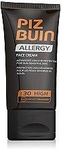 Voňavky, Parfémy, kozmetika Opaľovací krém pre tvár - Piz Buin Allergy Face Cream SPF30