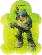 """Voňavky, Parfémy, kozmetika Detská špongia do kúpeľa """"Korytnačky Ninja"""" Leonardo 6 - Suavipiel Turtles Bath Sponge"""