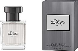 Voňavky, Parfémy, kozmetika S.Oliver For Him - Toaletná voda