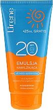 Voňavky, Parfémy, kozmetika Vodotesná hydratačná emulzia na opaľovanie - Lirene Sun Care Emulsion SPF20