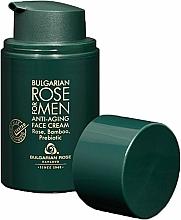Voňavky, Parfémy, kozmetika Krém proti starnutiu pre mužov - Bulgarian Rose For Men Anti-Agin Face Cream