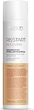 Voňavky, Parfémy, kozmetika Šampón na regeneráciu vlasov  - Revlon Professional Restart Recovery Restorative Micellar Shampoo