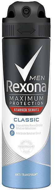 Pánsky dezodoračný sprej - Rexona Maximum Protection Classic Men Deospray