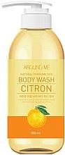 Voňavky, Parfémy, kozmetika Sprchový gél s citrusovým extraktom - Welcos Around Me Natural Perfume Vita Body Wash Citron