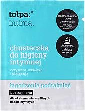 Voňavky, Parfémy, kozmetika Obrúsky na intímnu hygienu upokojujúce 1 ks - Tolpa Intima