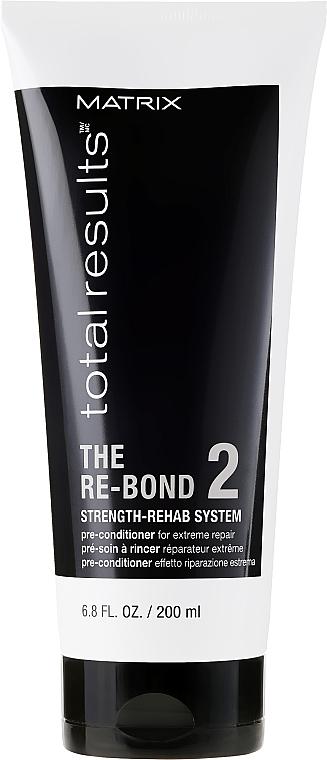 Pre-kondicionér pre extrémnu regeneráciu vlasov - Matrix Total Results The Re-Bond