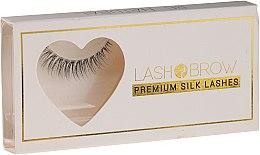 Voňavky, Parfémy, kozmetika Falošné riasy - Lash Brown Premium Silk Lashes Be Natural