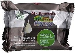 Voňavky, Parfémy, kozmetika Bio organické mydlo s oslovým mliekom a mandľovou arómou - Ma Provence Organic Soap