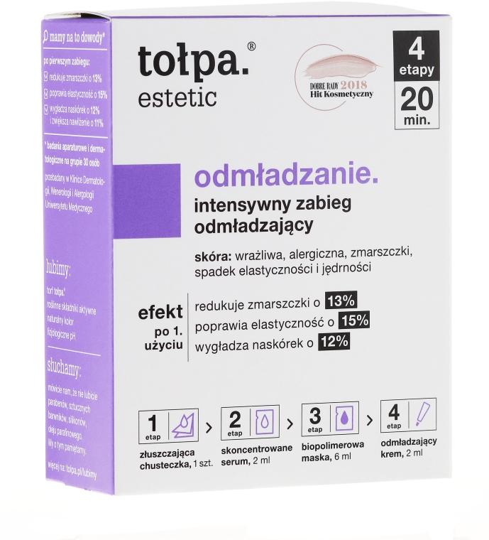 4-vá starostlivosť na omladenie tváre - Tolpa Estetic 4 Step Intensive Treatment Care
