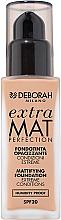 Voňavky, Parfémy, kozmetika Tonálny základ na tvár matná - Deborah Extra Mat Perfection SPF20