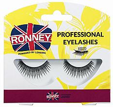 Voňavky, Parfémy, kozmetika Falošné riasy, syntetická - Ronney Professional Eyelashes RL00022