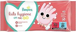 Voňavky, Parfémy, kozmetika Detské vlhčené utierky, 40 ks - Pampers Kids On The Go