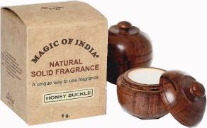"""Prírodný parfumovaný krém """"Honey Suckle"""" - Shamasa — Obrázky N1"""