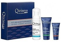 Voňavky, Parfémy, kozmetika Sada - Qiriness Moisturizing Hydration KIT LES Incontournables (foam/50/ml+fluid/15/ml+gel/5/ml)