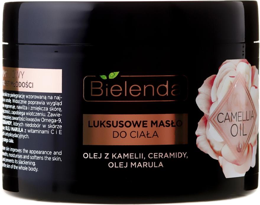 Telový olej - Bielenda Camellia Oil Luxurious Body Butter — Obrázky N2