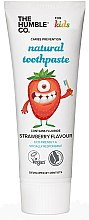 """Voňavky, Parfémy, kozmetika Prírodná zubná pasta """"Detská s jahodovou príchuťou"""" - The Humble Co. Natural Toothpaste Kids Strawberry Flavor"""