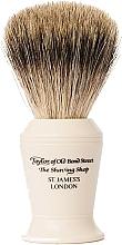 Voňavky, Parfémy, kozmetika Štetka na holenie, P376 - Taylor of Old Bond Street Shaving Brush Pure Badger size L