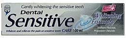 """Voňavky, Parfémy, kozmetika Zubná pasta """"Jemné bielenie"""" - Dental Sensitive Whitening Formula"""