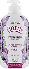 "Voňavky, Parfémy, kozmetika Tekuté mydlo ""Fialka"" - Parisienne Italia Fiorile Violet Liquid Soap"