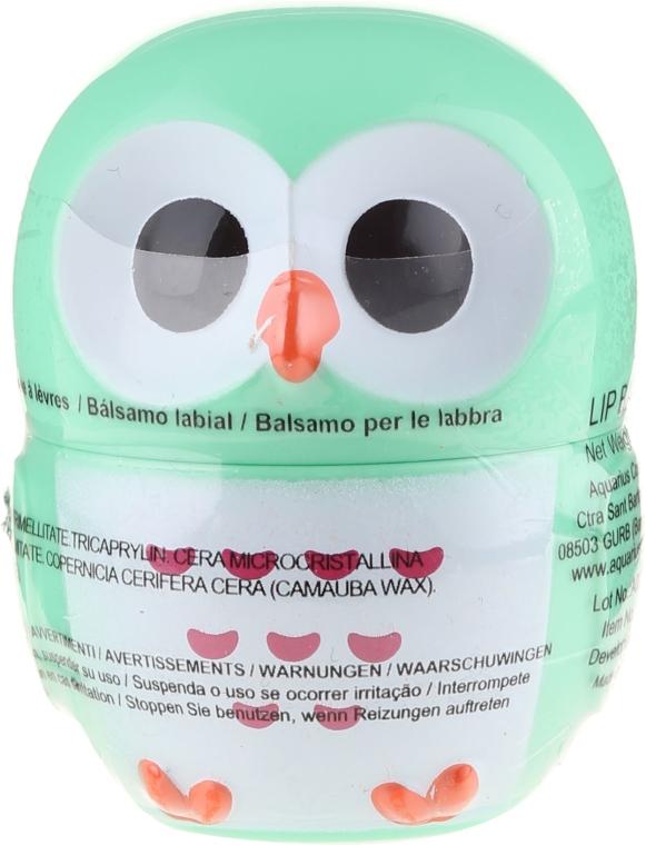 "Balzam na pery ""sova"", zelená - Martinelia Owl Lip Balm"