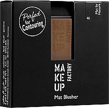 Voňavky, Parfémy, kozmetika Matná lícenka - Make Up Factory Mat Blusher
