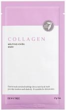 Voňavky, Parfémy, kozmetika Kolagénová pleťová maska - Dewytree Collagen Melting Chou Mask